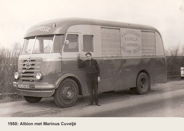Cuvelje Transport 1950
