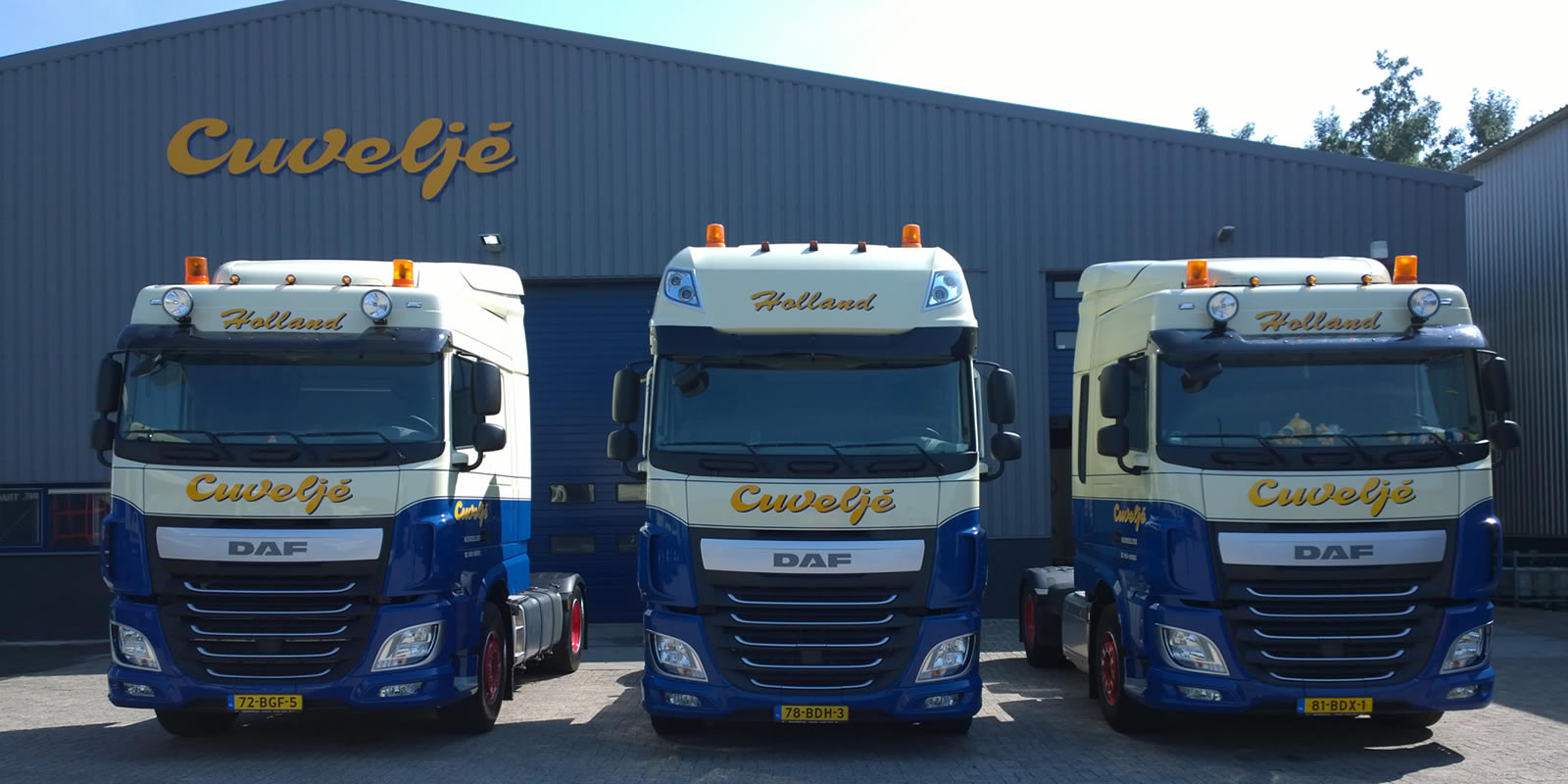 Fleet Cuvelje Transport